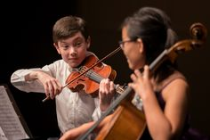 "Koret Young Performers play Beethoven ""Ghost."""