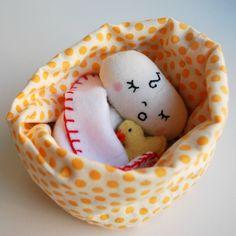 Bitty Baby en un bolsopequeña muñeca con accesorios de juego