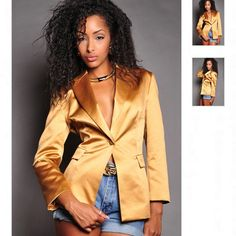 Golden Lady Blazer, Has Been SOLD!!!! DONT MISS OUT!!! GO Visit ShopiAMMI.com NOW!!!!! - @shopiammi- #webstagram