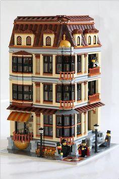 lego moc townhouse - Google Search