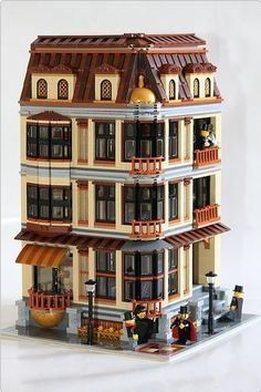 lego moc townhouse - Google Search