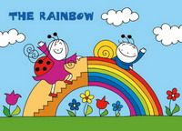 www.BerryAndDolly.com Games For Kids, Kids Rugs, Rainbow, Anna, Colors, Games For Children, Rain Bow, Rainbows, Kid Friendly Rugs