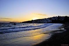 The sun goes down Greek Islands, More Photos, Greece, Sun, Beach, Water, Outdoor, Beautiful, Greek Isles