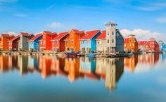 Reitdiephaven colours by Arjen Noord