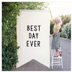 Best day ever flag