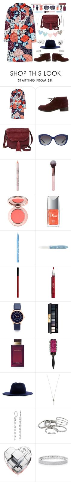 """""""Shirtdress"""" by cocochaneljr ❤ liked on Polyvore featuring Boden, Bottega Veneta, FOSSIL, Bulgari, Luxie, Too Faced Cosmetics, L'Oréal Paris, NYX, Stila and Marc Jacobs"""