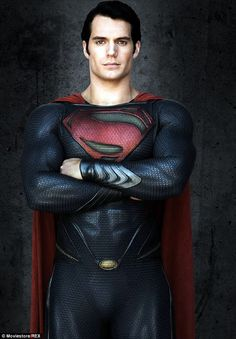 Man Of Steel: Henry is best known for his portrayal of Superman and will be donning the skintight suit again opposite Ben Affleck in Batman v Superman: Dawn of Justice next year