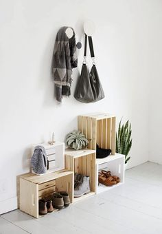Cute and Practical DIY Shoe Storage and Organization