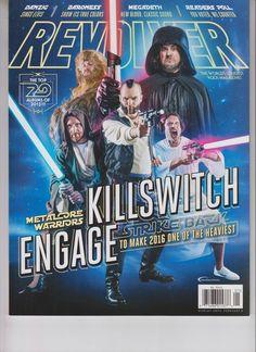 killswitch engage revolver magazine january 2016 no label #starwars from $9.75