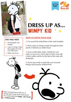 Here are 15 ideas for World Book Day costumes you can make for your child