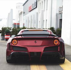 Ferrari F12 Berlinetta painted in Rosso Berlinetta w/ a full Novitec N Largo S body kit, wheels, rear wing and exhaust system Photo taken by: @maxzappolino on Instagram #FerrariF12Berlinetta