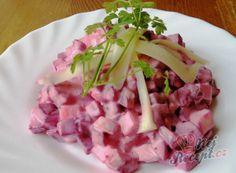 Recept Salát z červené řepy Slovak Recipes, Czech Recipes, Ethnic Recipes, Vegan Recepies, Finger Foods, Food Inspiration, Potato Salad, Cabbage, Brunch
