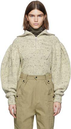 Isabel Marant - Off-White Kuma Sweater Isabel Marant Off-White Kuma Sweater Knitting , lace processing is essentially the most beautiful hobbies that females c. Knitwear Fashion, Knit Fashion, Runway Fashion, Sweater Fashion, Isabel Marant, Stockholm Street Style, Paris Street, Milan Fashion Weeks, London Fashion