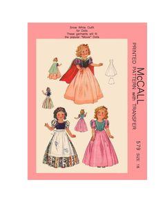 "fits 13.5/"" new vinyl Mary Hoyer dolls Mary Hoyer cotton dress w// collar Kit"
