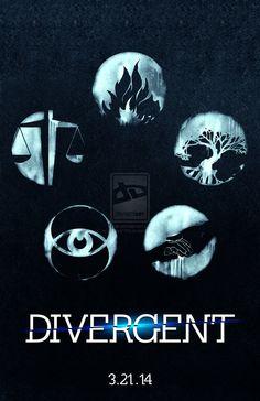 DIVERGENT BOOK COVER minimalist - Google Search