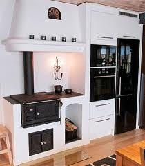 Bilderesultat for järnspis Luxury Interior Design, Interior Design Living Room, Küchen Design, House Design, Swedish Kitchen, Japanese Interior, Cabin Homes, Scandinavian Home, House Ideas
