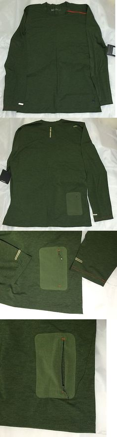 Shirts 59368: Brooks Pureproject Henley Ls - Heather Olive, Mens Med., 50% Off, Free Us Ship -> BUY IT NOW ONLY: $34.99 on eBay!