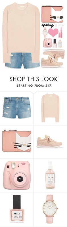 """""""Untitled #404"""" by jovana-p-com ❤ liked on Polyvore featuring Frame Denim, Chloé, Karl Lagerfeld, Dolce&Gabbana, Herbivore, ncLA and CLUSE"""