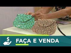 Passo a Passo Bolsinha de Mão / Clutch / Bolsa Transversal DIY - YouTube