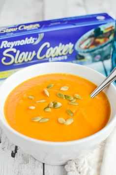Butternut Squash Soup : Cozy up to this yummy soup below.