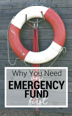 Why You Need an Emergency Fund First