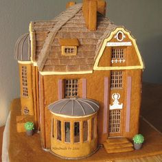 gingerbread outhouse template - Google Search