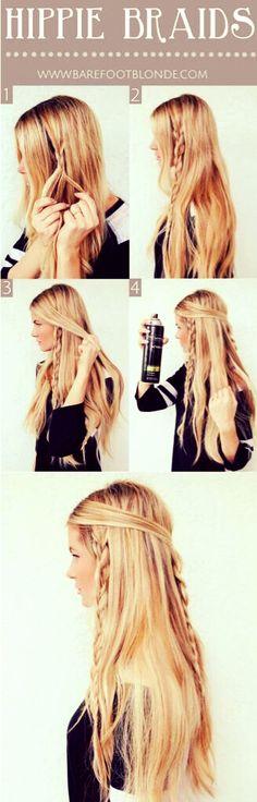 #hair #braids #boho