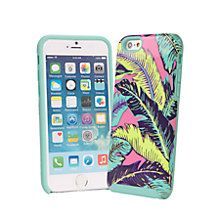 Novelty Hybrid Case for iPhone 6 in Palm Feathers | Vera Bradley