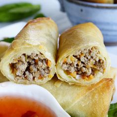 Related PostsFilipino Chicken BarbecueFilipino PancitLumpia (Filipino Spring Rolls)Filipino Banana Egg RollsSalmon Sinigang – Filipino Sour Soup