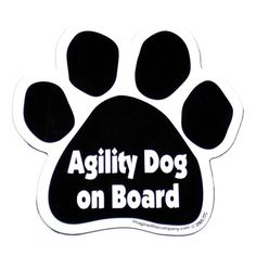 Therapy Dog On Board Car Magnet