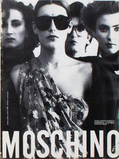 Moschino, 1984.