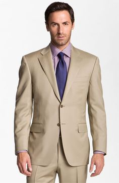 Canali Wool Suit   Nordstrom Groomsmen Tux #NordstromWeddings