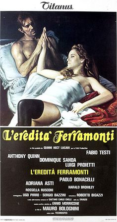 Beau Film, Anthony Quinn, Falling In Love Again, Newly Married, The Brethren, Great Films, Family Business, Luigi, Acting