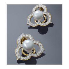 6a40743b4788 Open Petal Earrings - Designed by Angela Cummings  Regram via  assaelpearls Designer  Earrings