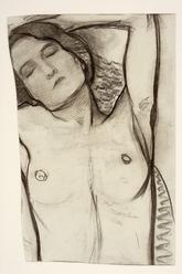 Piet Mondriaan, 1908-1909, Charcoal on paper