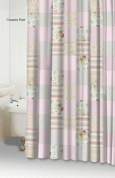 Country Fair Pink Shower Curtain