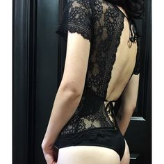 Our favorite @forloveandlemons bodysuit. Sexy at its finest.