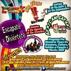 Conoce las #promociones que tenemos para ti http://www.turismoenveracruz.mx/promociones/ #Veracruz #Xalapa #sixflags #africamsfari
