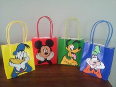 Mickey Mouse Clubhouse Favor Bags DIY