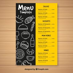 molicommunications in Fast Food Menu Design Templates – Quality Template Ideas Flyer Restaurant, Restaurant Menu Template, Restaurant Menu Design, Restaurant Identity, Cafe Menu Design, Menu Card Design, Food Menu Design, Stationery Design, Menu Fast Food