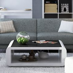 Coffee Table With Black Glass Top For sale South Africa ● ● Plate: Hollow high gloss paint ● Top plate / bottom: hollow matte paint ● tempered glass