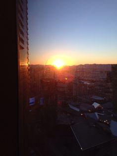 Vegas sunrise❤️ Vegas, Sunrise, Celestial, Check, Outdoor, Outdoors, Outdoor Games, The Great Outdoors, Sunrises
