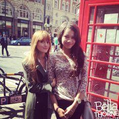 Bella Thorne in London