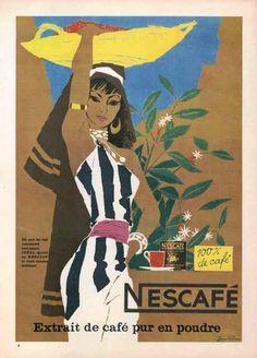 Nescafé 1954 -Donald Brun