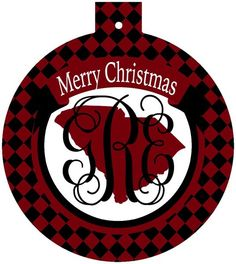 South Carolina Monogrammed Christmas Ornament,Gamecocks gift | Brant Point Prep