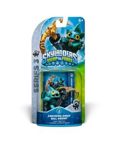 Skylanders SWAP Force Gill Grunt S3 Character on Sale