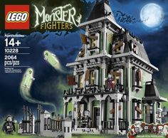 Amazon.com: LEGO Monster (10228) Fighters Haunted House Includes minifigures: Toys & Games