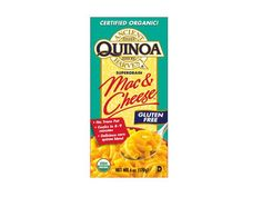 100 Cleanest Packaged Food Awards 2013: Grains And Pastas: Ancient Harvest quinoa mac & cheese http://www.prevention.com/food/healthy-eating-tips/100-cleanest-packaged-food-awards-2013-grains-and-pastas?s=5