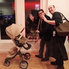 A luxe ride that Dads love too! Stokke Xplory Stroller