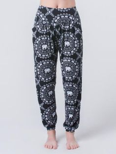 Taru Black Yoga Pants